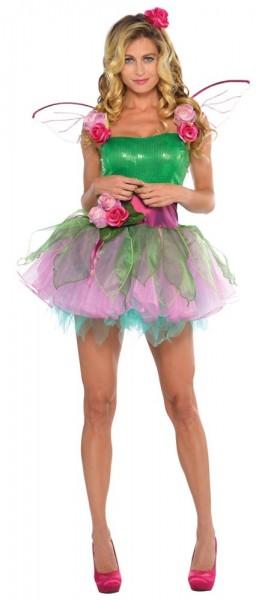 Zauberhaftes Blumenfee Rosalia Kostüm