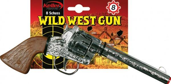 Westernrevolver Metall Mit 8 Schuss