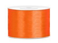 25m Satin Geschenkband orange 5cm breit