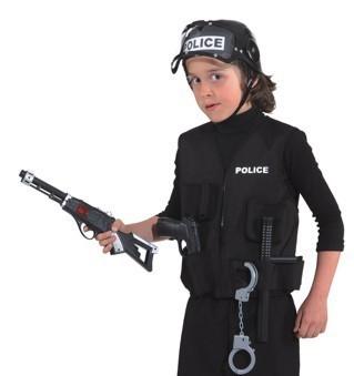 Chaleco de policía para niños
