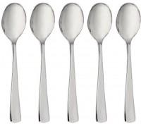 32 hochwertige Plastiklöffel Silber klein