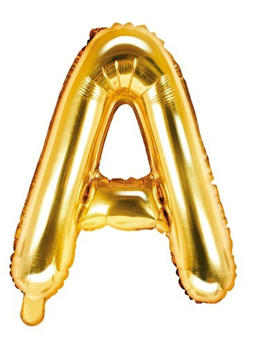 Ballon aluminium A or 35cm