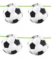 Fußball Girlande 10m