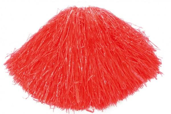 Roter Puschi Cheerleader Pompon