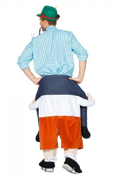 Piggyback Oktoberfest costume