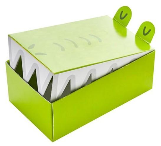 10 boîtes à gâteaux au crocodile
