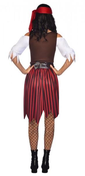 Disfraz de pirata Lilly para mujer