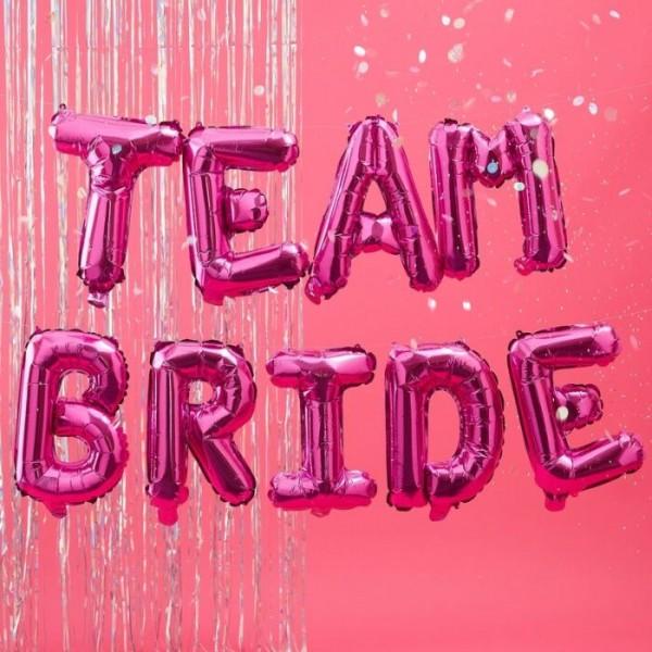Bride Tribe Team Bride Folienballon