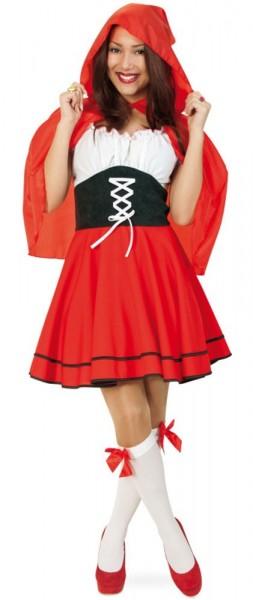 Märchenwald Rotkäppchen Kleid