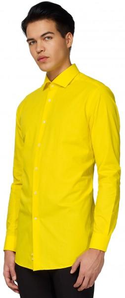 OppoSuits Shirt Yellow Fellow Men