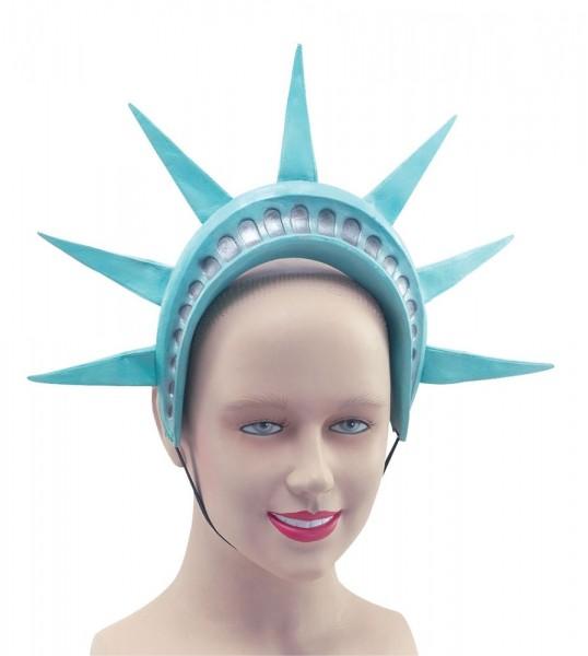 Hoofdkrans van het Vrijheidsbeeld van New York