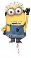 Folienballon Minion Phil Figur