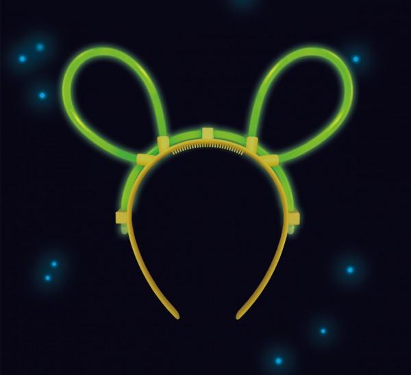 Power Glow Mouse Ears Tiara Green