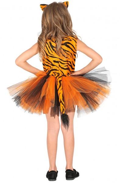 Süßes Tigerkostüm für Mädchen