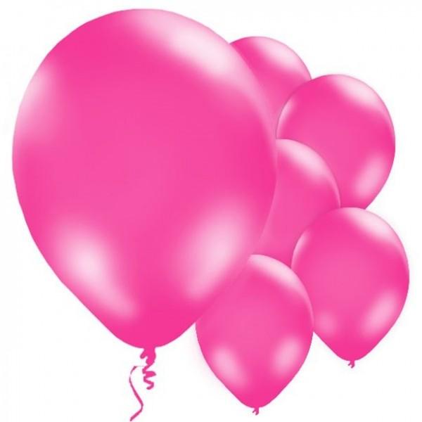10 Latexballon pink 28cm