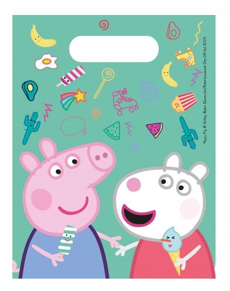 6 bolsas de regalo Peppa Pig Spieletag