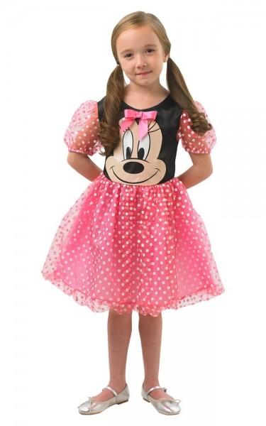 Süßes Minnie Maus Kostüm für Mädchen pink