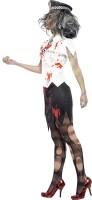 Polizeifrau Zombie Kostüm
