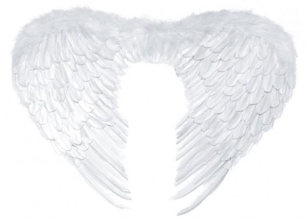 Alas de ángel Lisa blanco 76 x 55cm