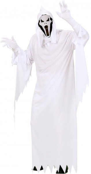 Screaming poltergeist costume
