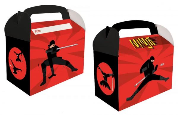 6 coffrets cadeaux ninja party