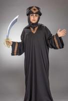 Schwarze Thawb Robe für Jugendliche