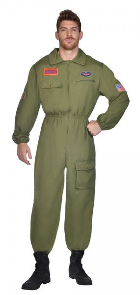 Déguisement pilote de chasse Navy pour homme