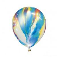 4 LED Ballons Farbenspiel leuchtend 23cm