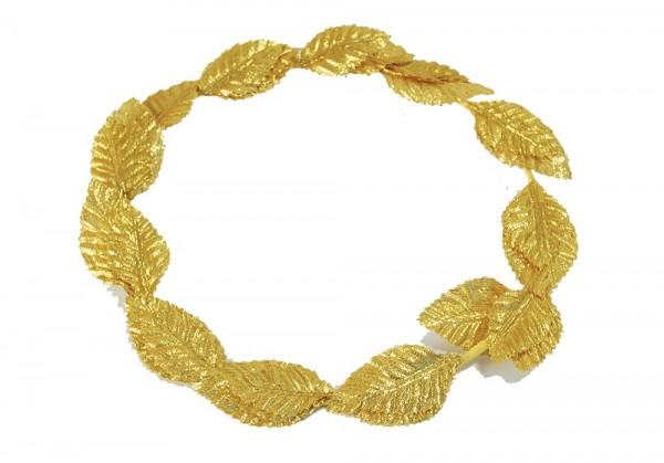 Römischer Lorbeerkranz Gold