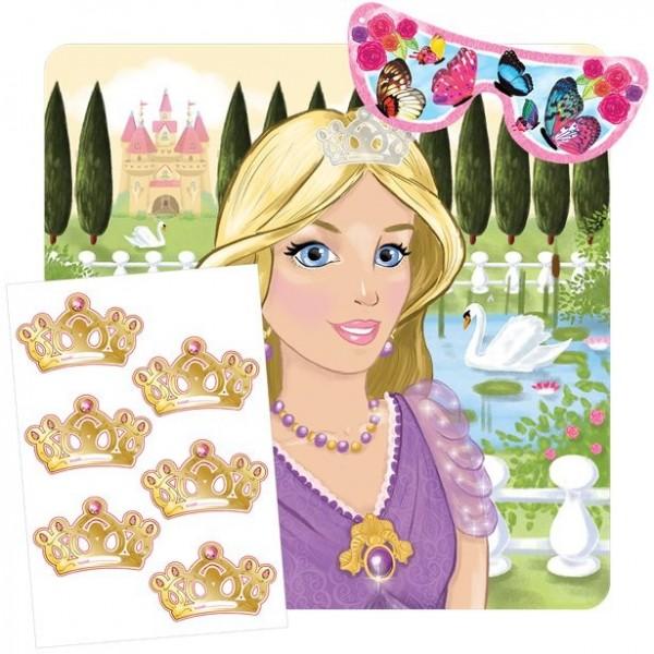 Krön die Prinzessin Partyspiel