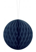 Wabenball Lumina dunkelblau 10cm