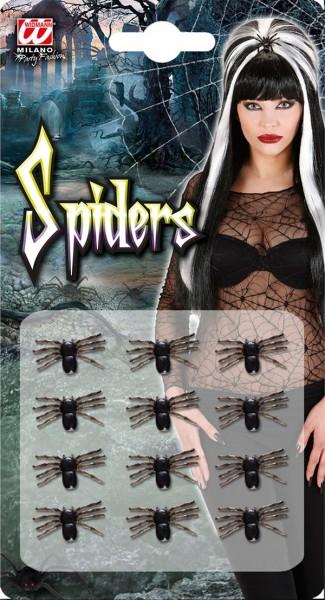 12 morder edderkopp figurer