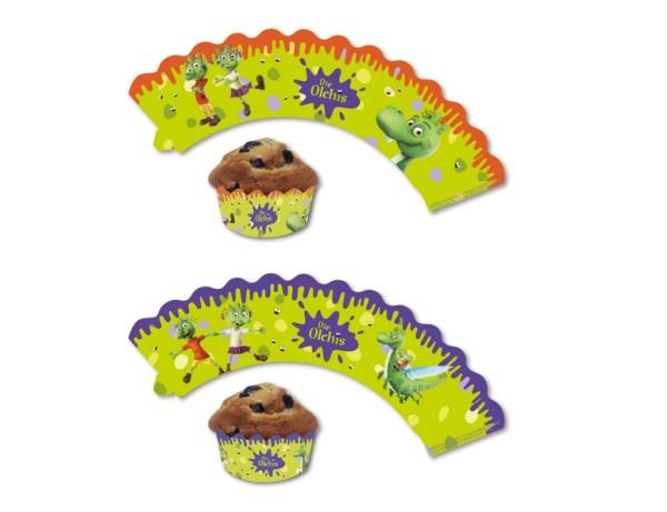 12 Banderolas de panecillos Olchis