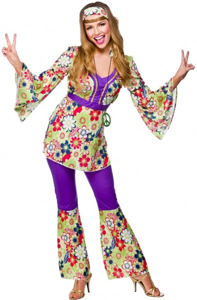 Groovy flower power costume
