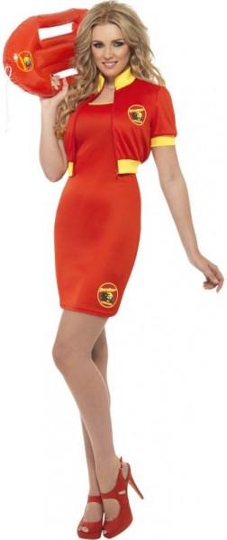 Miss Baywatch kostuum voor dames