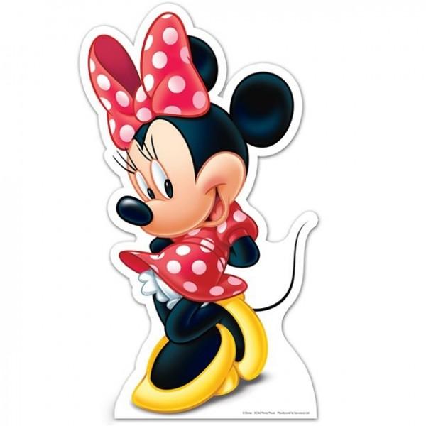 Minnie Maus Pappaufsteller 89cm