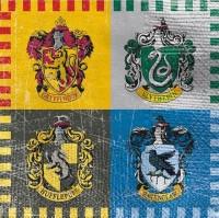 16 Harry Potter Hogwarts Servietten 25cm