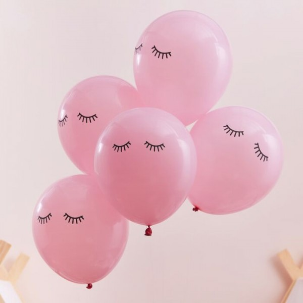 10 Pamper Party Luftballons 30cm
