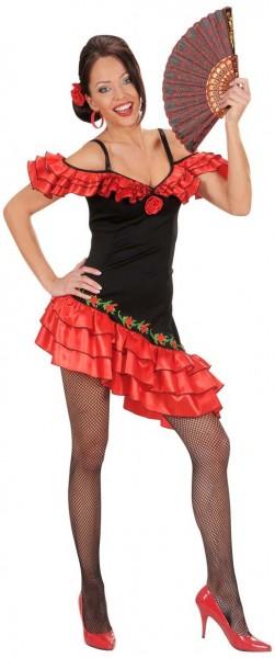 Flamenco Tänzerin Carmen Damenkostüm