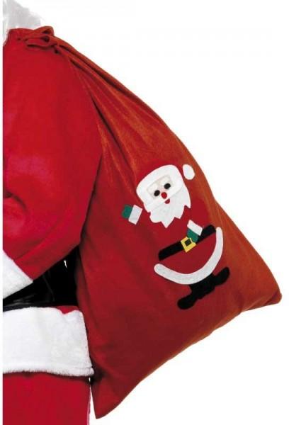 Roter Weihnachtsmann Geschenkebeutel 90x60cm