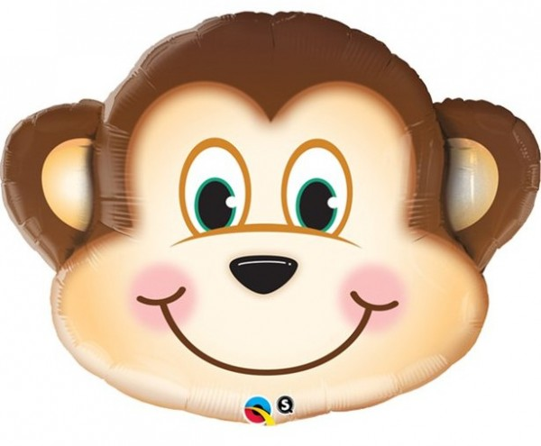 Balon foliowy Naughty Monkey 89cm