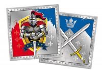 20 Servietten Ritter Wappen 33cm