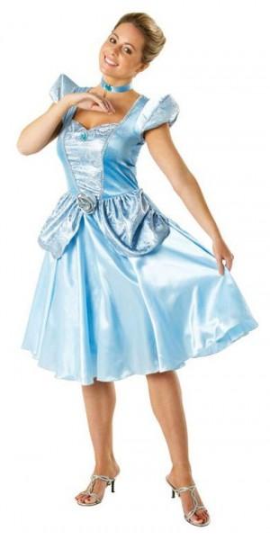 Zauberhaftes Cinderella Damenkostüm