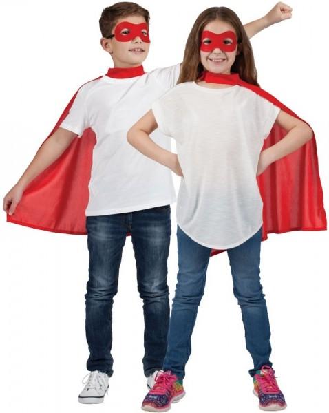 Lou Superhelden Set in Rot