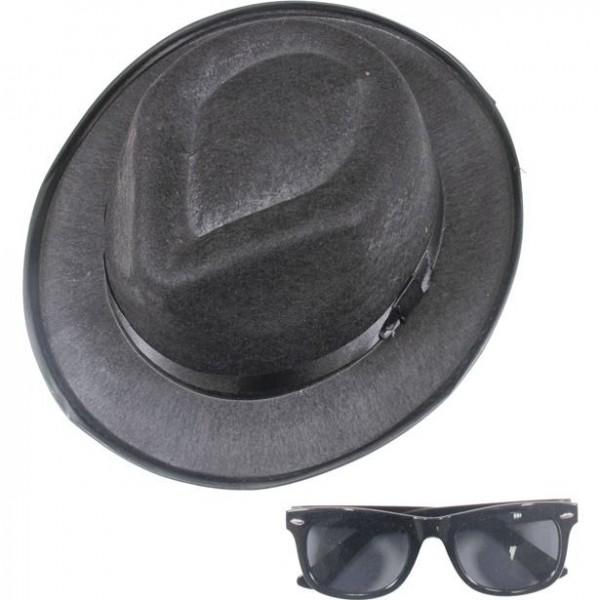Feel the Funk Hut und Sonnenbrille