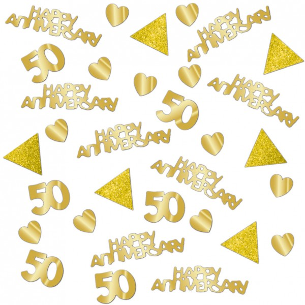 Sparkling sprinkle decoration for the golden wedding 14g
