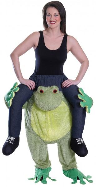 Ferdinand frog piggyback costume