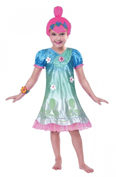 Poppy Troll Kinder Kostüm Classic