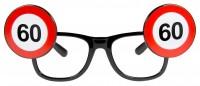 Verkehrsschild 60 Brille