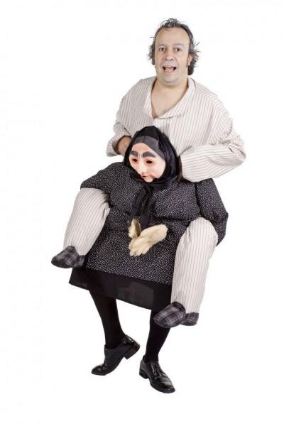 Gerd and Gerda piggyback costume